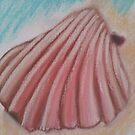 Sea Shell in pastels by JayJay70