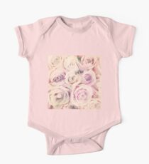 Mothers Day Present - Rose Blush Pastel Gift One Piece - Short Sleeve