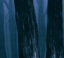 A Dark, Foggy Night Sticker