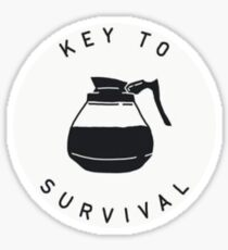 Key To Survival  Sticker