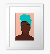 Ava Framed Print