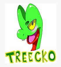 TREECKO! Photographic Print
