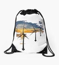 Thanetian Coasts of Kent Drawstring Bag