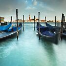Gondolas in the Swell by Andy Freer