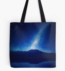 Galactic Lake View Tote Bag