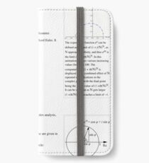 Euler's Identity Math, Mathematics iPhone Wallet/Case/Skin