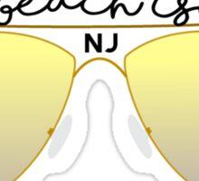 Long Beach Island Geofilter Sticker