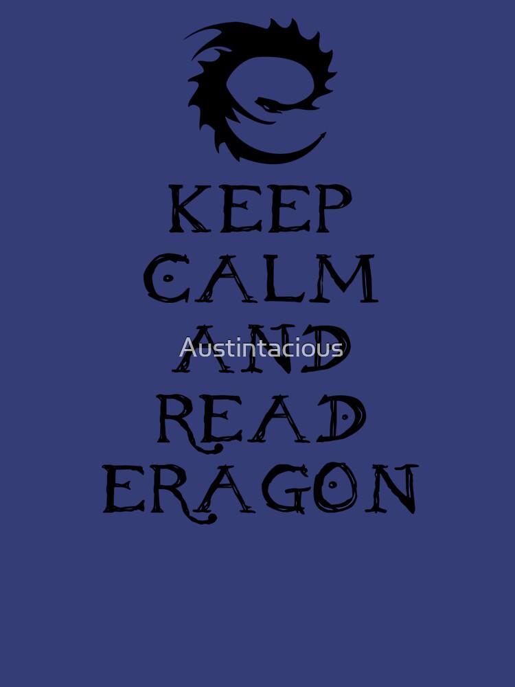 Keep calm and read Eragon (Black text) by Austintacious