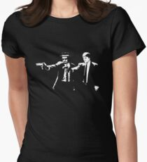 Breaking Bad Pulp Fiction Women's Fitted T-Shirt