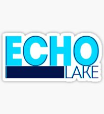 Echo Lake Geofilter Sticker