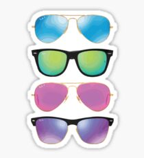 Pile of Sunglasses Sticker