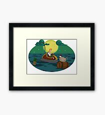 Guybrush Threepwood Framed Print