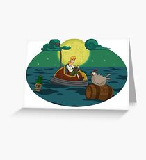Guybrush Threepwood Greeting Card