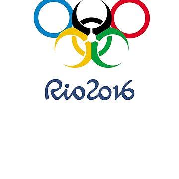 Rio Olympics 2016 by rafix