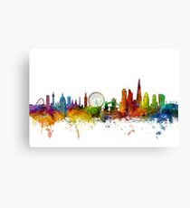 London England Skyline Canvas Print