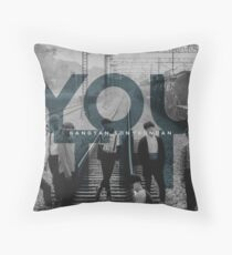Youth BTS Throw Pillow