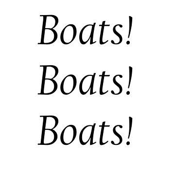 Boats! Boats! Boats! by Oli3198