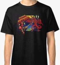 Super Metroid Box Art Classic T-Shirt