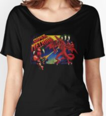 Super Metroid Box Art Women's Relaxed Fit T-Shirt