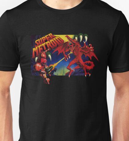 Super Metroid Box Art Unisex T-Shirt