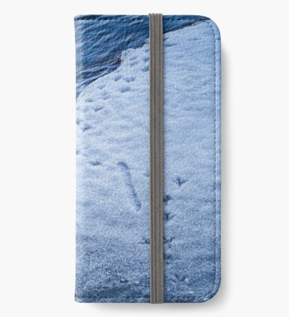 Footprints - Flipped horizontal (iPhone wallet) iPhone Wallet