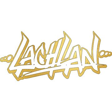 Lachlan | LIMITED EDITION! | GOLD FOIL TSHIRT | NEW! | HIGH QUALITY! by OfficialLachlan
