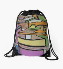 Urban Culture - Cafe Life Drawstring Bag