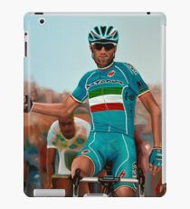Vincenzo Nibali Painting iPad Case/Skin