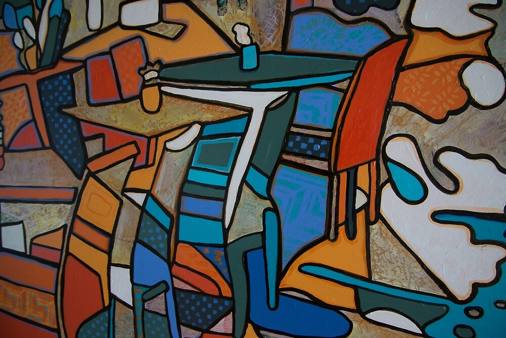 Urban Culture - Table for Two by Rachel Rovay