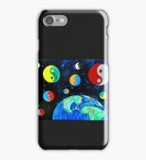 """World Goes Round"" by Jessica R Ojeda iPhone Case/Skin"