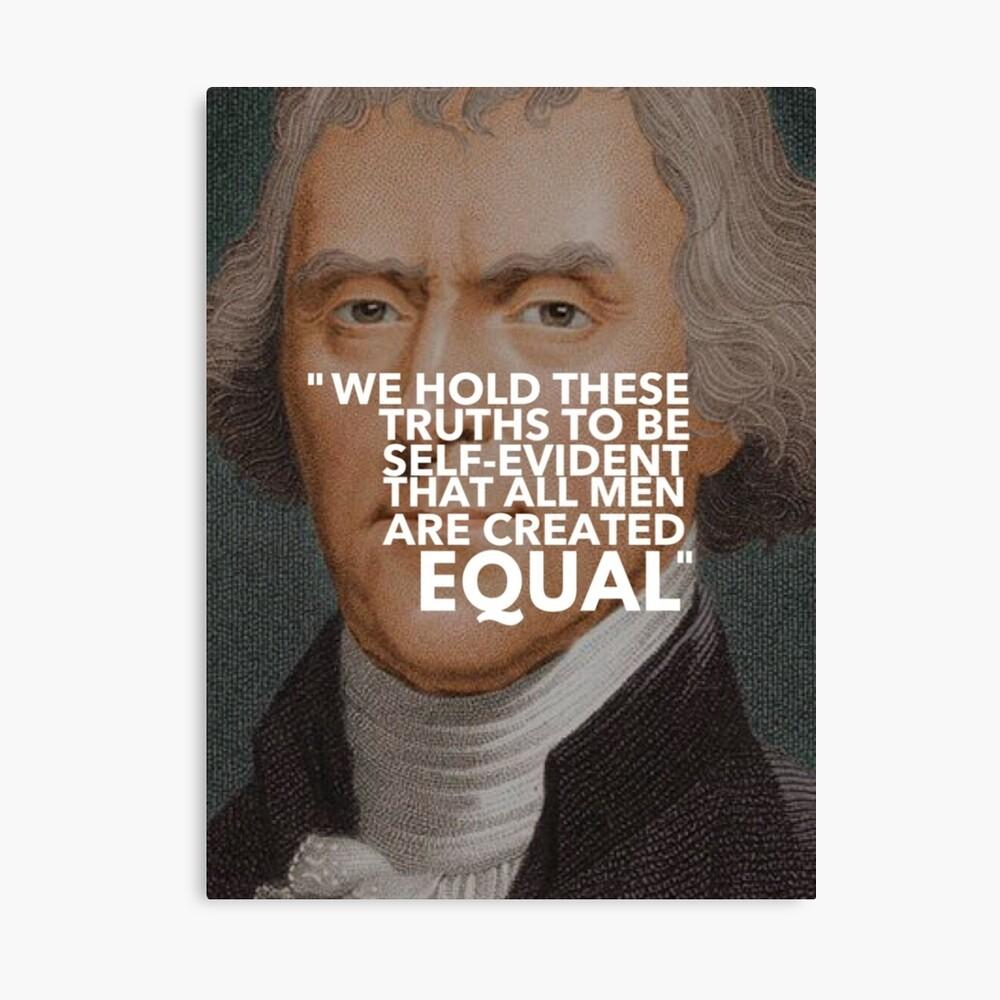 Thomas Jefferson Lienzo