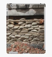 barricade of bags iPad Case/Skin