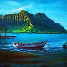 Kaneohe Bay Early Morn  by jyruff