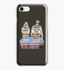 caskett iPhone Case/Skin