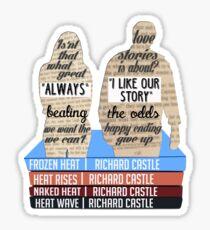 caskett Sticker