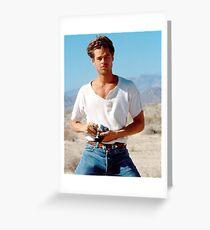 Brad Pitt  Greeting Card