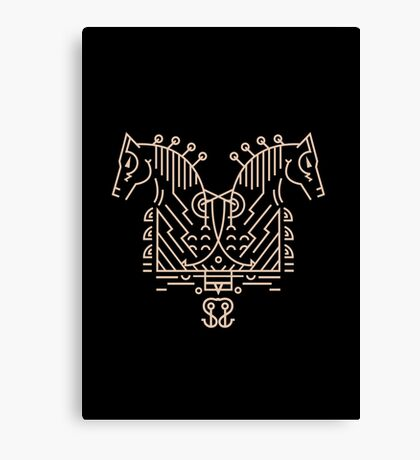 Sleipnir Canvas Print