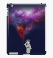 Mysterious Space Stranger  iPad Case/Skin