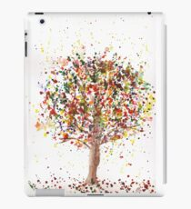 Exploding Fall Tree iPad Case/Skin
