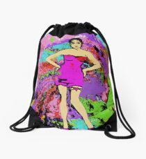 WOMAN EMPOWERED:  I TWIRL ON MY HATERS Drawstring Bag