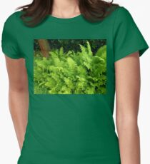 Vibrant Ferns - Preston Temple Grounds Womens Fitted T-Shirt