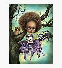 Cynthia and Critters Photographic Print