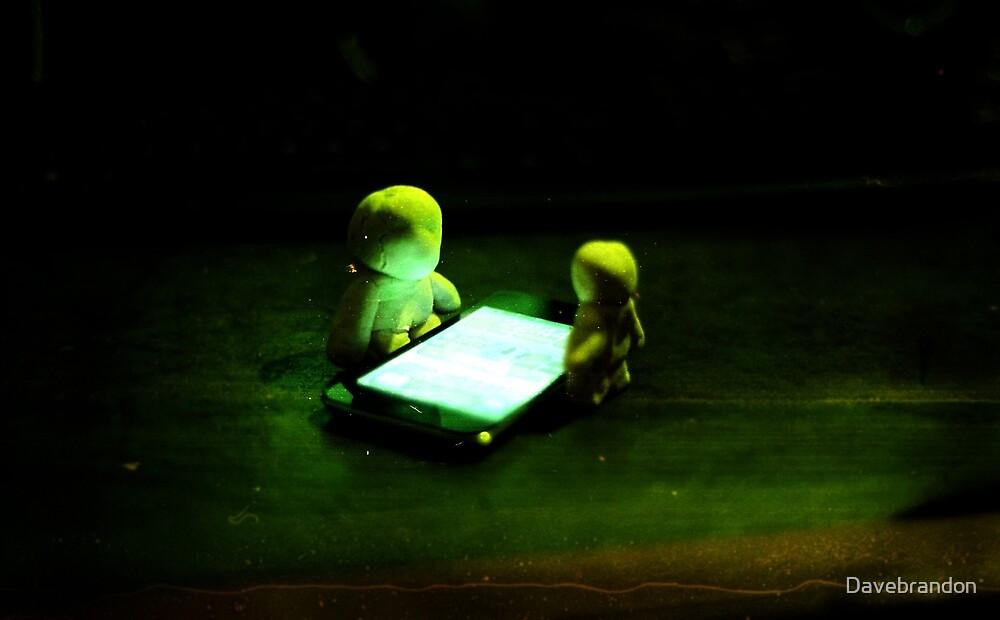 Green Glow Gathering by David Brandon