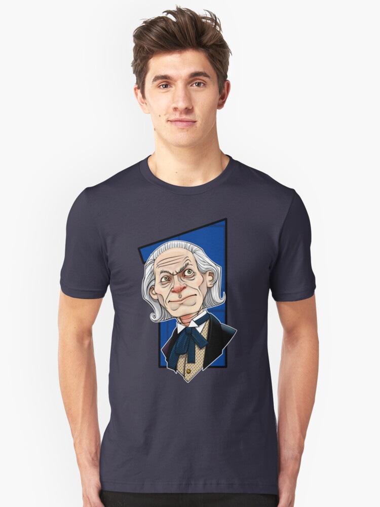 The First Doctor Unisex T-Shirt Front