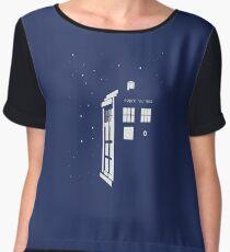 TARDIS Chiffon Top