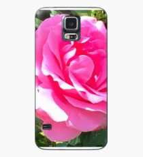 Blush Pink Rose Case/Skin for Samsung Galaxy
