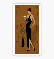 Gatsby Girl Sticker