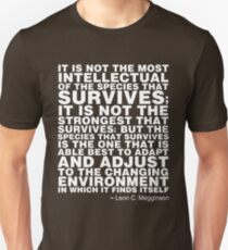 Survival of the Fittest (dark) T-Shirt