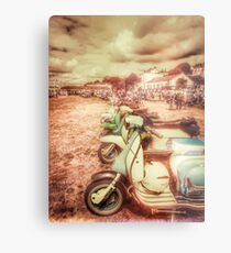 Exmouth Scooter Rally 2016 Metal Print