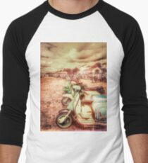 Exmouth Scooter Rally 2016 Men's Baseball ¾ T-Shirt